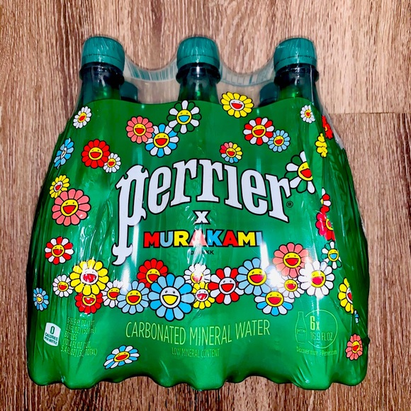 Perrier x Murakami Water: Limited Edition